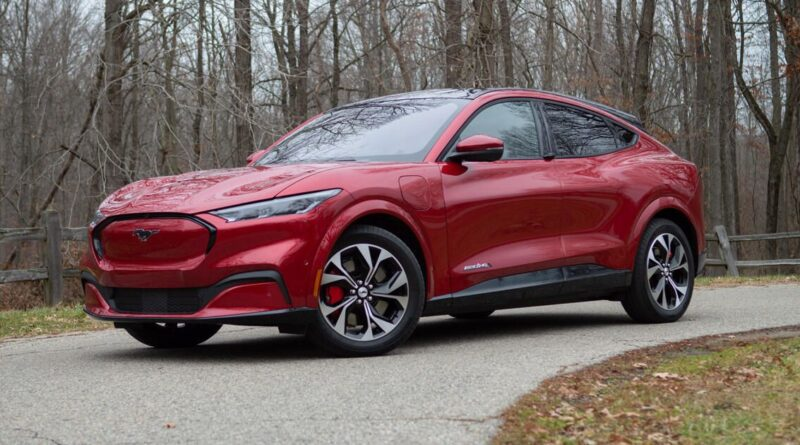 2021 Ford Mustang Mach-E first drive review: A very good EV, just an OK Mustang – Roadshow ...